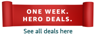 One Week Hero Deals. See all deals.