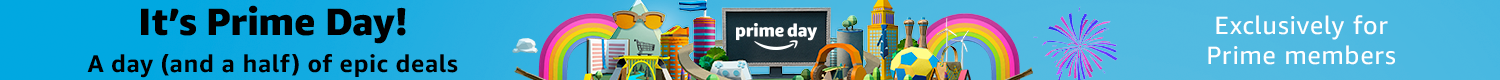 It is Prime Day. A day (and a half) of epic deals, exclusively for Prime Members