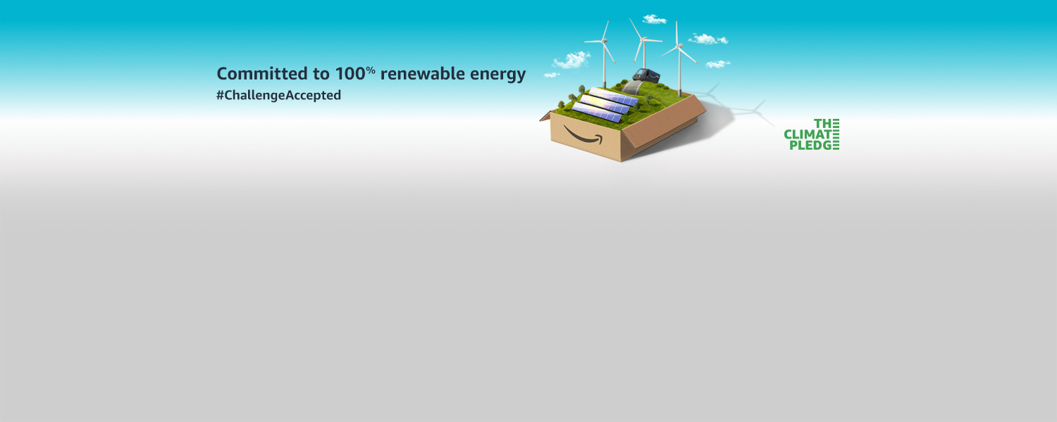 Committed to 100% renewable energy. Challenge Accepted.