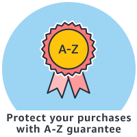 Protect your purchases with A-Z guarantee