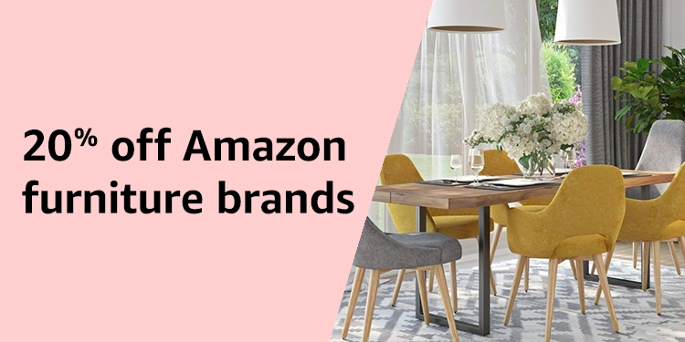20% off Amazon furniture brands