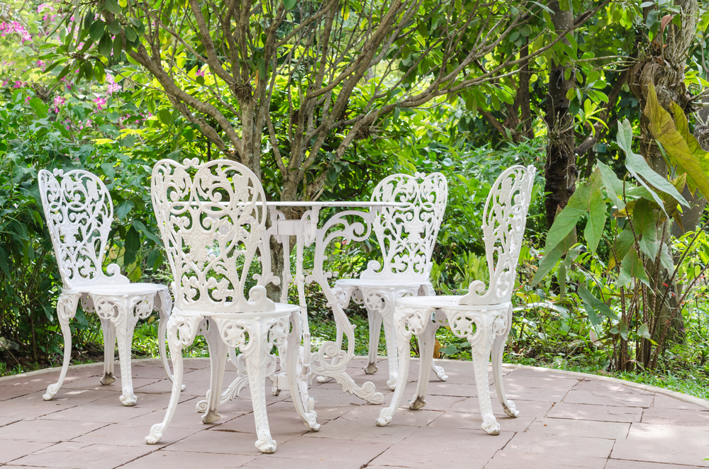 garden furniture materials