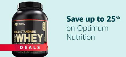 Save on Optimum Nutrition