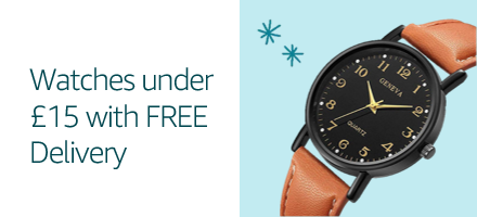 Watches under £15 with Free Delivery