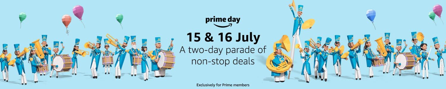 Prime Day is 15 & 16 July