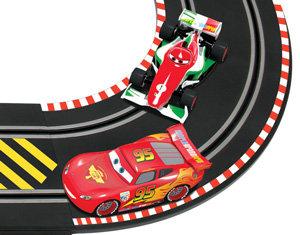Disney Cars  Scalextric World Grand Prix Set