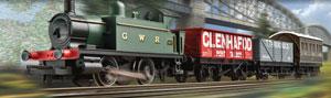 GWR passenger freight train