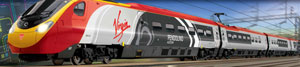 R1155 Virgin Trains Pendolino train
