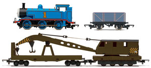 Thomas locomotive and carriages
