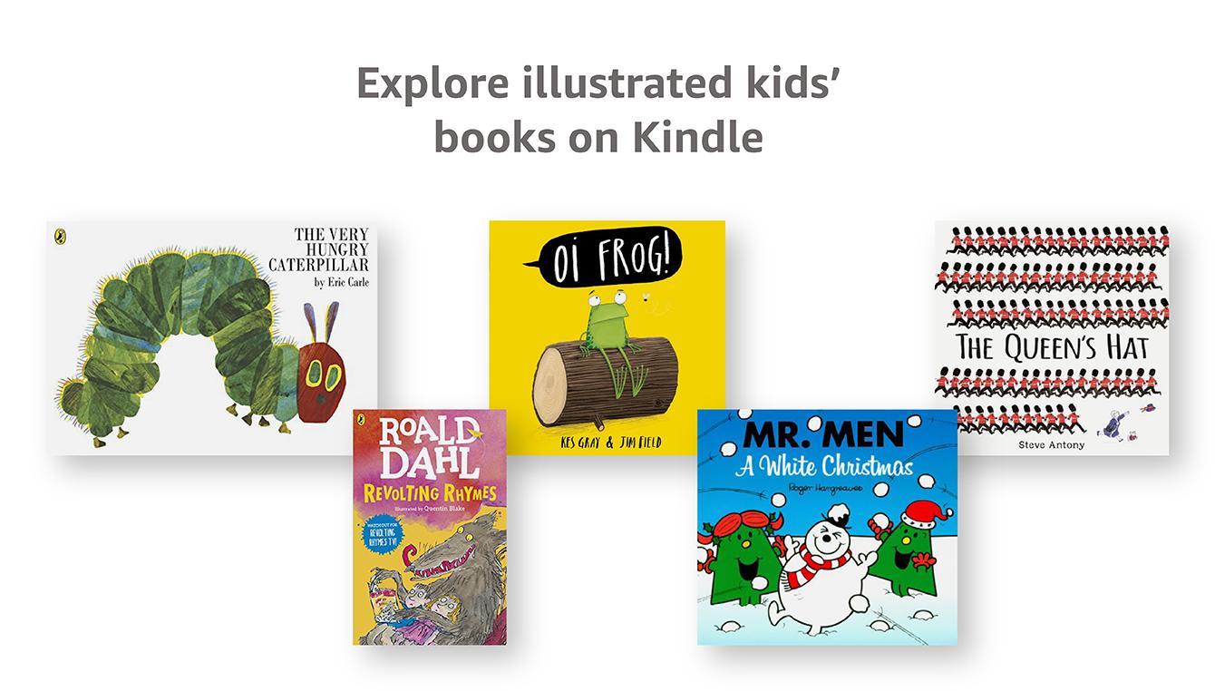 Popular Illustrated Kindle Books
