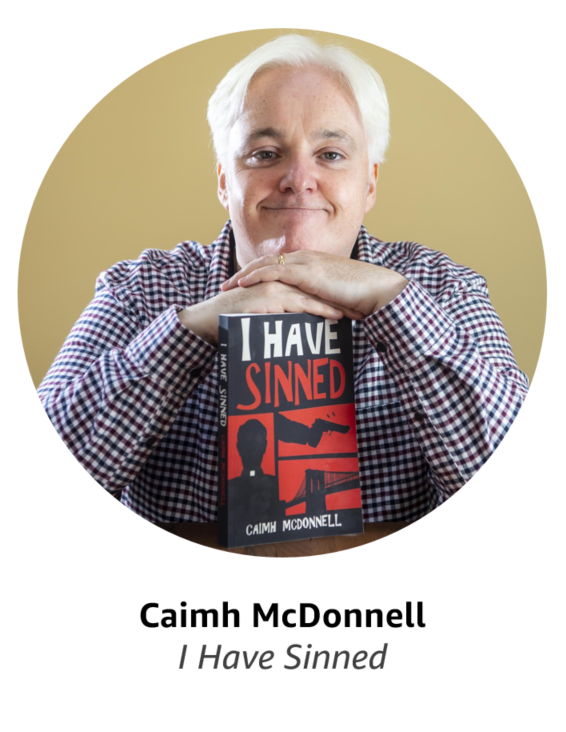 Caimh McDonnell, author of I Have Sinned