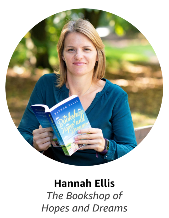 Hannah Ellis, author of The Bookshop of Hopes and Dreams