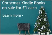 Christmas Kindle Books on sale for £1 Each