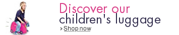 Discover our children's luggage...