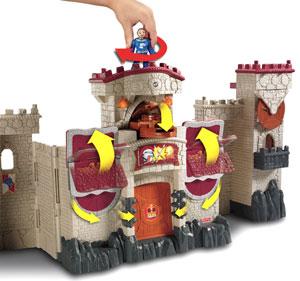 mattel castle