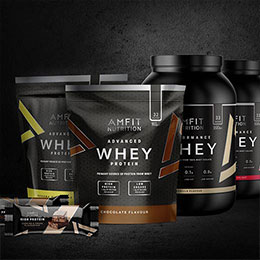 Protein supplements for your active lifestyle by Amfit Nutrition