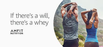 15% off on AMFIT NUTRITION WHEY Protein