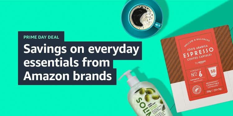 Savings everyday essentials from Amazon brands