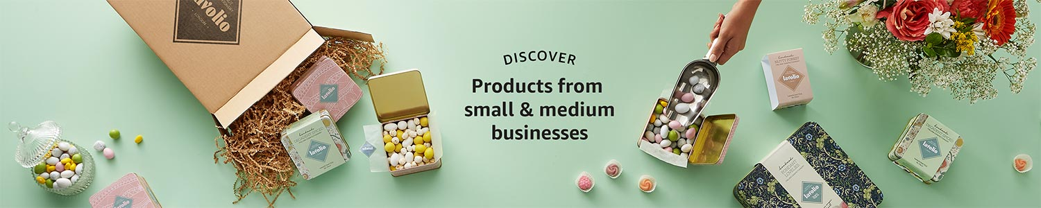 Discover products from small businesses