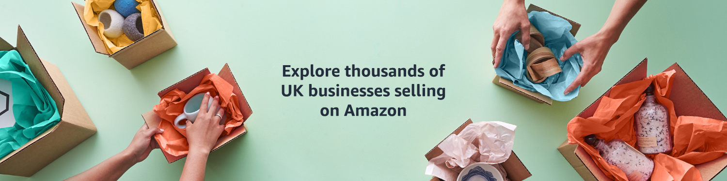Explore thousands of UK businesses selling on Amazon