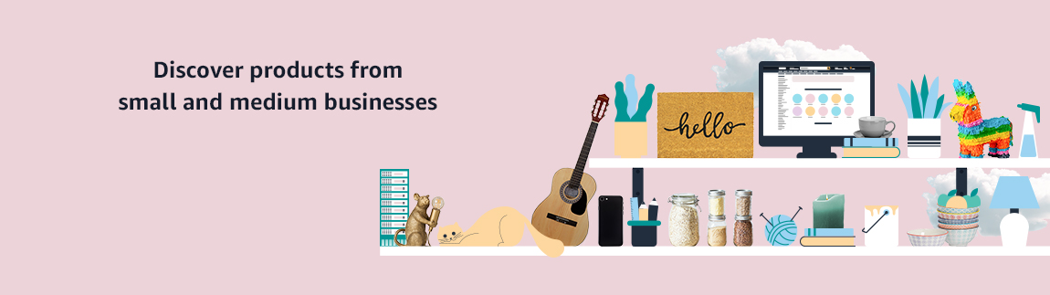 Discover products from small and medium businesses