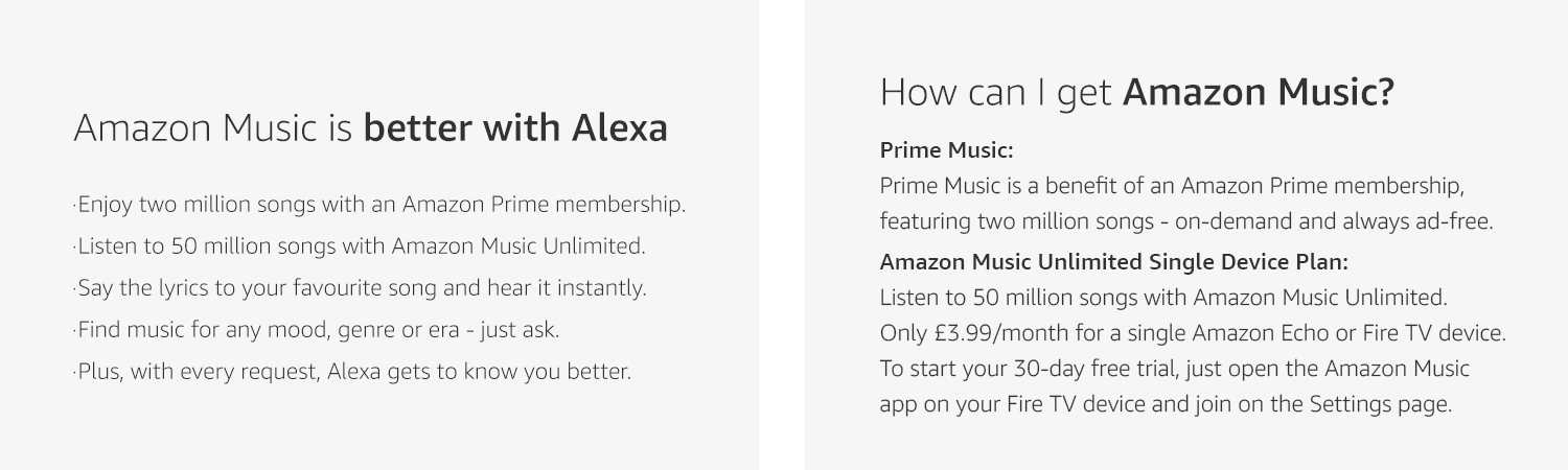 Amazon Music & Alexa