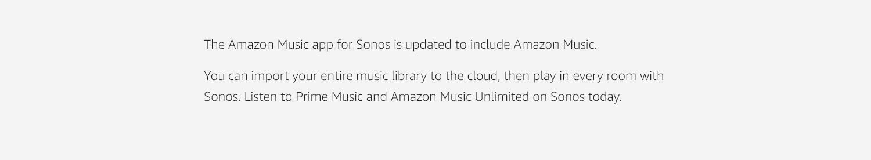 Amazon co uk: Sonos and Amazon Music: Digital Music
