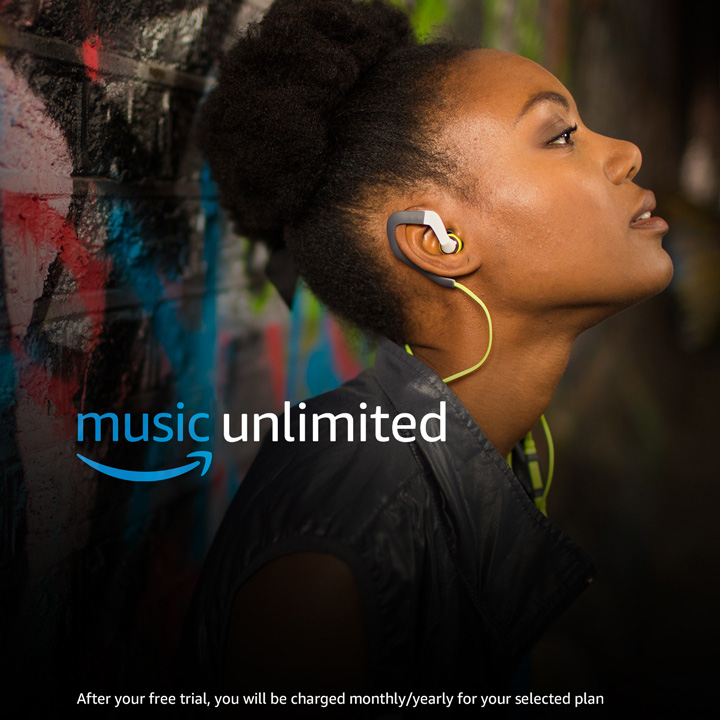40 million songs. Anywhere, anytime. Only £7.99/month for Prime members. (Non-Prime price: £9.99/month)