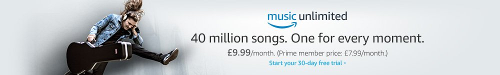 Listen to 40 million songs with Amazon Music Unlimited