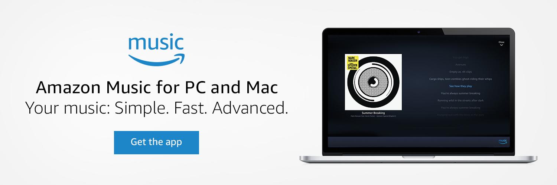 Amazon co uk: Amazon Music App for PC & Mac: Digital Music
