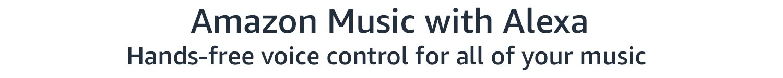 Amazon Music with Alexa