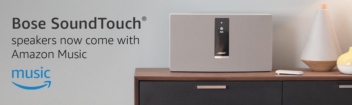 The Soundtouch System with Amazon Music