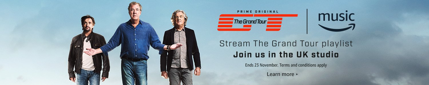 Stream the Grand Tour playlist to join us in the UK studio