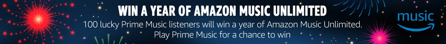 Win a year of Amazon Music Unlimited