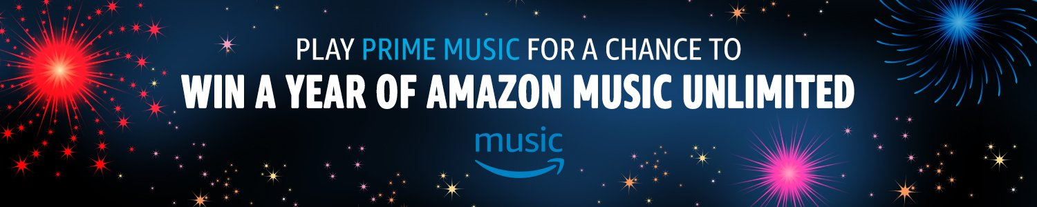 Amazon Music Unlimited Prize Draw