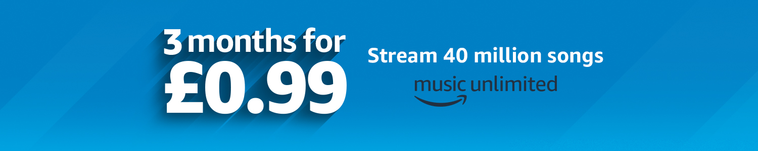 Amazon Music Unlimited 3 months for £0.99