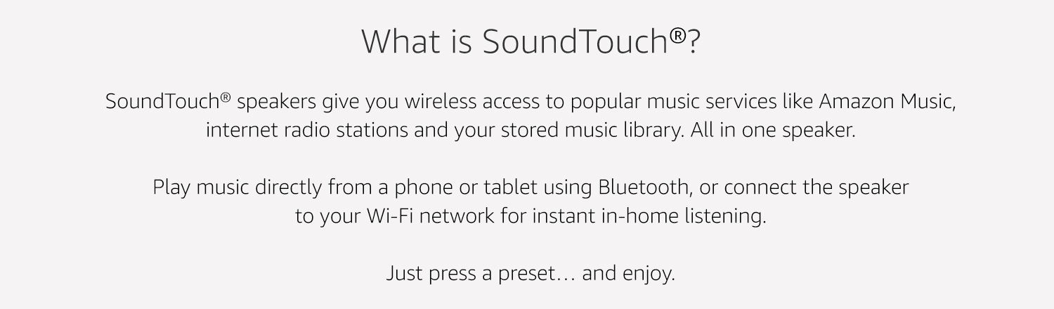 What is Soundtouch?