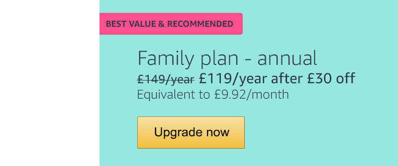 Amazoncouk Save 30 On The Amazon Music Unlimited Family Plan