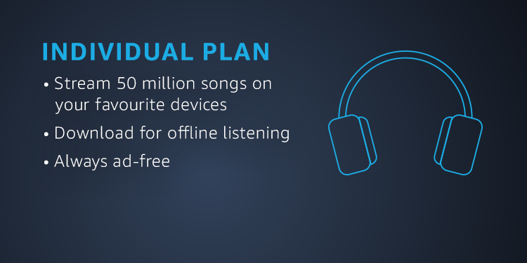 Amazon Music Unlimited - Individual Plan