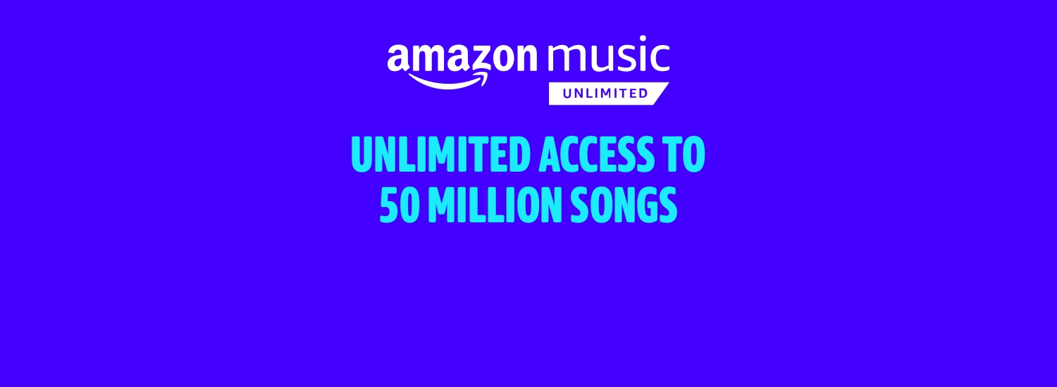 50 million songs. Anywhere, anytime. £9.99/month after. Change or cancel anytime.