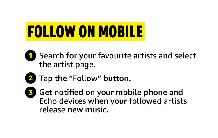 Follow on Mobile