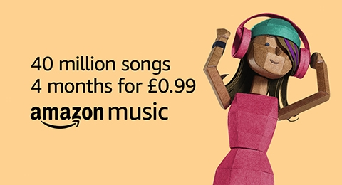 Amazon Music Unlimited - 4 months for £0.99