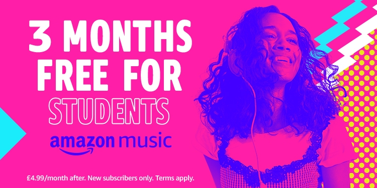 3 months free of Amazon Music Unlimited