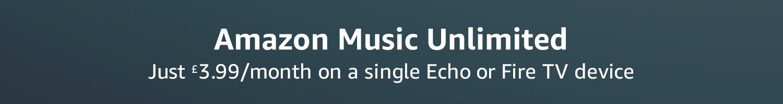 Amazon co uk: Amazon Music Unlimited Single Device plan
