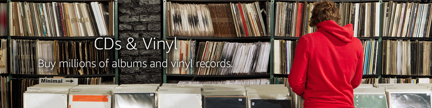CD & Vinyl - Buy millions of albums and vinyl records.