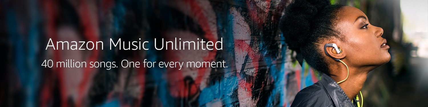 Amazon Music Unlimited - 40 million songs. Anywhere, anytime.