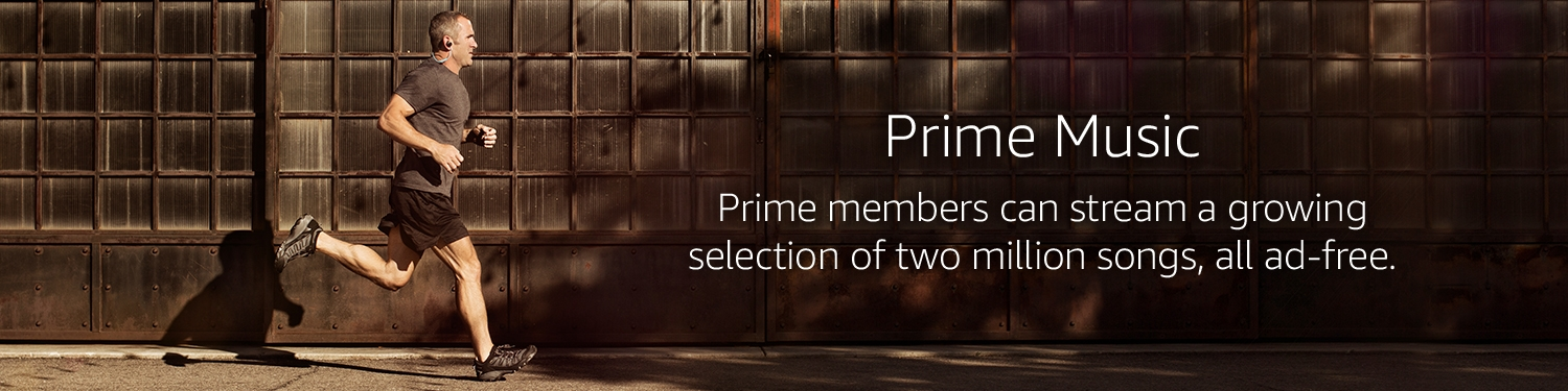 Prime Music - Prime members can stream a growing selection of over a million songs, all ad-free