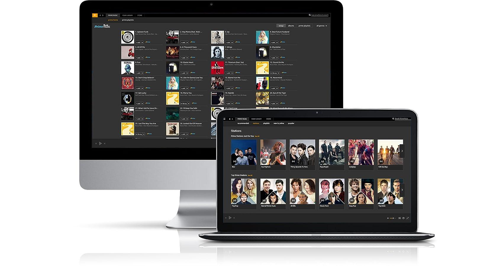Prime Music on Mac & PC