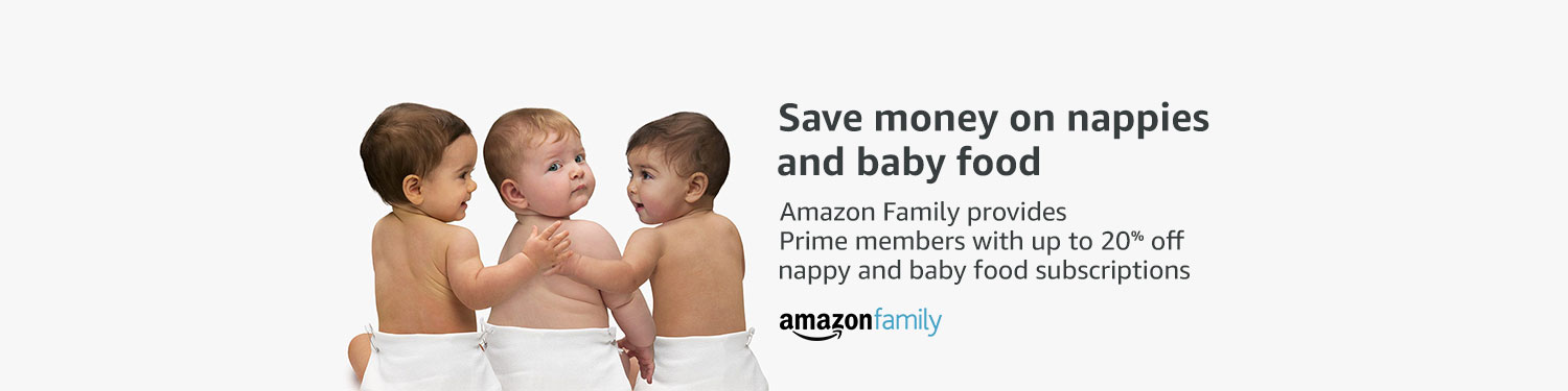 Save up to 20% off nappy and baby food subscriptions