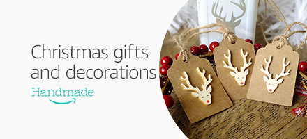 Christmas gifts and decorations, Handmade
